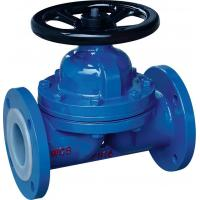 Buy cheap PTFE Lined Diaphragm Valve from wholesalers