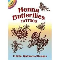 Buy cheap Henna Butterfly Tattoos CH1050 product