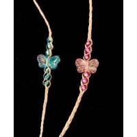 Buy cheap Child's Butterfly Hemp Bracelet from wholesalers