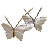 Buy cheap White Mother of Pearl Butterfly Pendant JL1468S from wholesalers