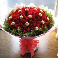 Buy cheap China Christmas gift baskets Wish chocolate with greens. NO.23 delivery christmas hamper to from wholesalers