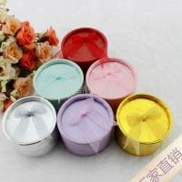 Buy cheap Small round ribbon bow RING ear ring box from wholesalers