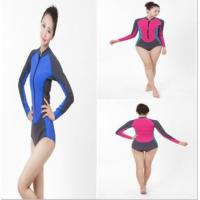 Buy cheap sex womens full body 3 mm neoprene plus size wetsuit from wholesalers