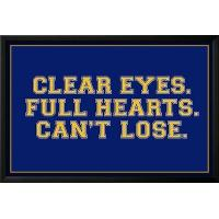 Buy cheap Motivational Clear Eyes. Full Heart. Can't Lose. Sports Poster from wholesalers