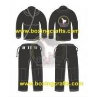 Buy cheap BJJ GI black BJJ PEARL WEAVE GI from wholesalers