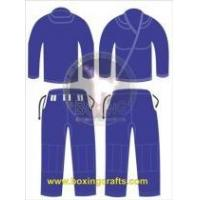 Buy cheap BJJ GI BLUE BJJ GOLD WEAVE UNIFORM from wholesalers