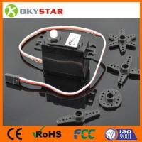 Buy cheap 360 degree continuous rotation servo vehicle intelligent robot dc gear motor (2 pieces/lot) from wholesalers