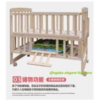 Buy cheap Multifunctional Solid Wood Baby Crib / Baby Cot / Infant Bed from wholesalers