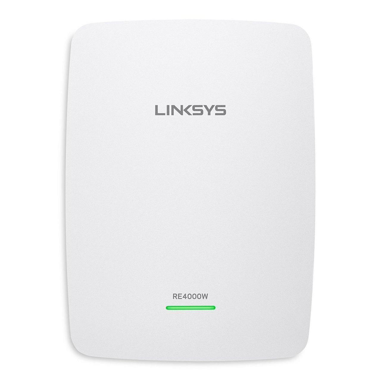 China Linksys RE4000W N600 PRO Wi-Fi Range Extender (RE4000W) on sale