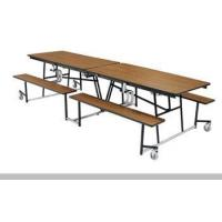 Buy cheap 12' Mobile Cafeteria Bench Table (MTB12PW) from wholesalers