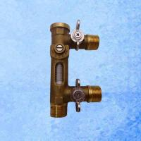 Buy cheap USC-MS21TB 2-8L/Min Flow Meter Balancing Valve and Replenishing Valve from wholesalers