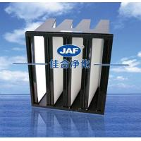 Buy cheap Plastic box v-type filter - hepa filter - efficient filter from wholesalers