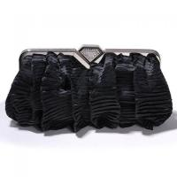 Buy cheap Silver fold satin clutch Evening Bags for women ZY-7107 from wholesalers