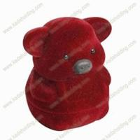 Buy cheap Cute Pig Shape Flocking Jewellery Box from wholesalers