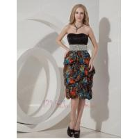 Buy cheap Cheap Leopard Beaded Mother Of The Bride Short Dress from wholesalers