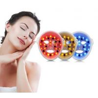 3d vibration silicone led facial mask