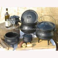Buy cheap Hot sale High quality south africa three legs cast iron potjie pot from wholesalers