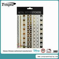 Buy cheap Waterproof Flash Gold Temporary Tattoo Wholesale(ET1-1) from wholesalers