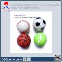 Buy cheap Foam Clay-putty-slime  Flashing Sports Bounce Ball from wholesalers