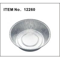 Buy cheap Round aluminium foil container 12260 from wholesalers