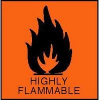 Buy cheap Highly Flammable Warning Label from wholesalers