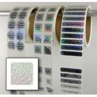 Buy cheap tamper proof security labels Water Proof Security Laser Label from wholesalers