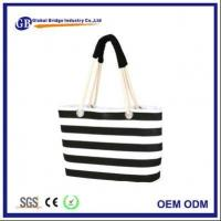 Buy cheap Heat Transfer Printing Canvas Tote Bag With Rope Handle from wholesalers