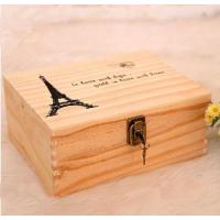 Buy cheap Wooden Gift packaging Box product
