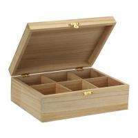 Buy cheap Custom wooden Tea boxes from wholesalers