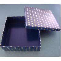 Buy cheap XMT-G118 stars logo paper gift box with matt surface from wholesalers