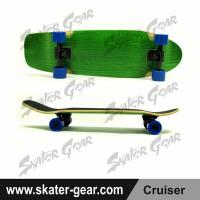 Buy cheap SKATERGEAR 29.75*8.75inch Green Maple Cruiser Skateboard Product No.:SG-CS06 from wholesalers