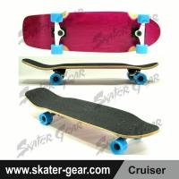 Buy cheap SKATERGEAR 29.75*8.75inch Purple Maple Cruiser Skateboard Product No.:SG-CS09 from wholesalers