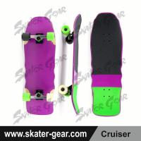 Buy cheap SKATERGEAR 31.5*10inch Maple Cruiser Skateboard Product No.:SG-CS03 from wholesalers