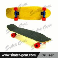Buy cheap SKATERGEAR 29.75*8.75inch Yellow Maple Cruiser Skateboard Product No.:SG-CS04 from wholesalers