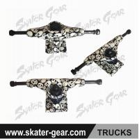 Buy cheap SKATERGEAR 5.0 inch skateboard trucks with printing design Product No.:SG-TR02 from wholesalers