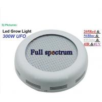 Buy cheap New 300W Full Spectrum 5730SMD leds AC85-265V LED UFO Grow Light Lamp from wholesalers