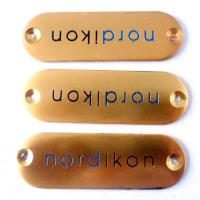 Buy cheap brass engrave metal door name plates from wholesalers