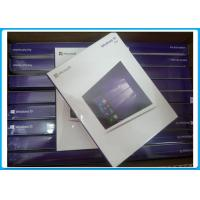 Buy cheap 100% Genuine Microsoft Widnows 10 Pro Software OEM License Key retailbox lifetime warranty from wholesalers