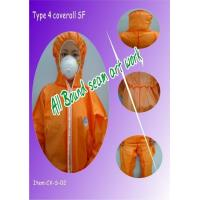Buy cheap Type 4 coverall (Bound seam) from wholesalers
