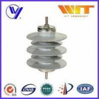 China 12KV 10KA Safety Substation Lightning Arrester , Metal Oxide Surge Protector without Gaps on sale