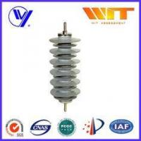 Buy cheap Silicon Rubber Zinc Oxide Lightning Arrester 33KV Surge Diverter for Transformer Protection from wholesalers