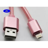 China Double Side Braided Reversible USB Cable 2.0 Android Cell Phone Charging Cords on sale