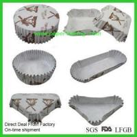 Buy cheap Large Muffin Pan Cupcake Paper Liners from wholesalers