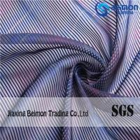 Buy cheap 10S Stereoscopic Stripes Organza Fabric For Printed from wholesalers