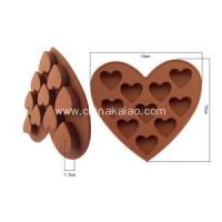 Buy cheap Diy Tool for Candy Chocolate Tray Silicone Heart Mould from wholesalers