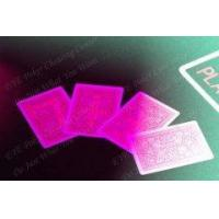 Buy cheap Invisible ink marked cards for IR contact lenses Fournier 2818 from wholesalers
