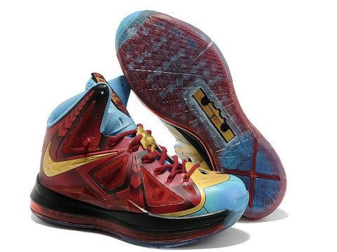 Nike LeBron 10 Iron Man 3 Custom - 48548394