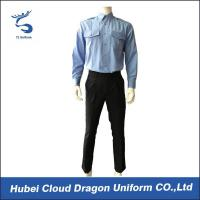 Buy cheap Blue Interweave SWAT Team Uniform Regular Fit For Police / Security Guard from wholesalers