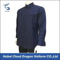Buy cheap Navy blue TC Ripstop Police officer shirts military tactical shirt from wholesalers