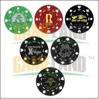 Buy cheap Suited Pattern Poker Chip-with Hot stamp from wholesalers